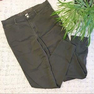Juicy Couture Stretch Sateen Skinny Pants Size 10